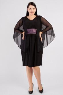 """Платье """"Артесса"""" PP38007BLK01 (черный)"""