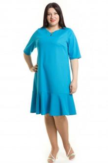 Платье 492 Luxury Plus (Голубой)