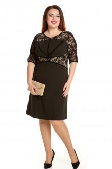 Платье 662 Luxury Plus (Черный)