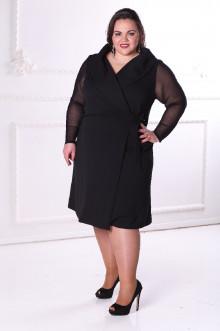 Платье 088701 ЛаТэ (Черный)