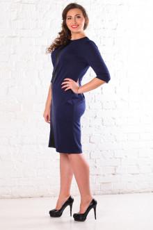 Платье 072305 ЛаТэ (Темно-синий)