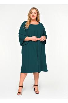 """Платье """"ЛаТэ"""" 1620405 (Изумрудный)"""