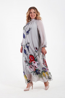 Платье 110203 ЛаТэ (Серый)