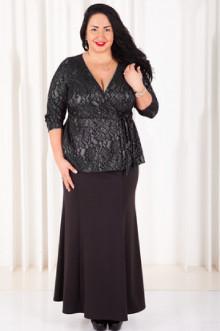 Блуза 022102 ЛаТэ (Серый)