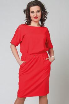 """Платье """"СКС"""" 2777 (Красный)"""