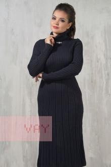 Платье женское 2229 Фемина (Мокрый асфальт)